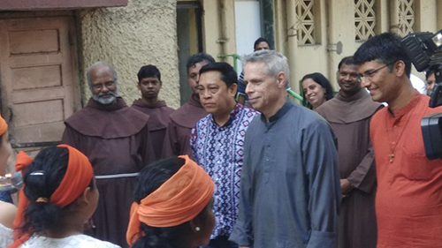 OFM Franciscan India - Minister General and Definitor General visit India