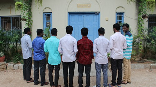OFM Franciscan India - Entry into Novitiate