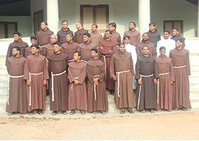 OFM Franciscan India - Brothers in India Celebrate the SPUTY Pre-Chapter