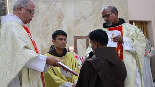 OFM Franciscan India - Solemn Profession