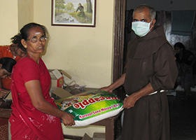 OFM Franciscan India - Covid-19 Relief Work in Paasam-Flame