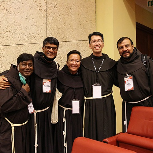OFM Franciscan India - GENERAL CHAPTER 2021  Renewing Our Vision, Embracing Our Future